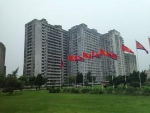 Pyongyang Flags
