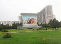 Pyongyang Propaganda Mural