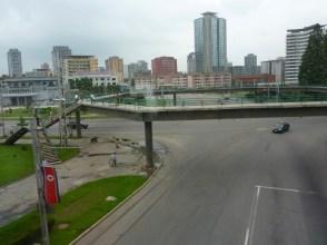 Deserted streets...