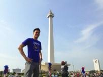 "Sporting the ""Jakarta"" Tourist Shirt"