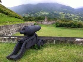 Brimstone Hill Fortress National Park Cannon