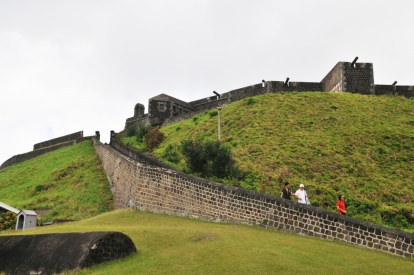 Brimstone Hill Fortress National Park From Parking