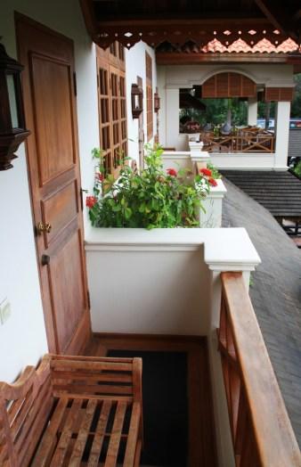 Red Canal Mandalay Room Balcony