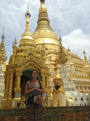 Shwedagon Pagoda Christina