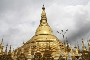 Shwedagon Pagoda Golden