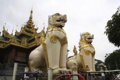 Shwedagon Pagoda Statues