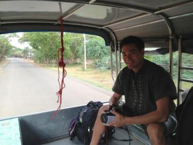 Truck to Bagan Bus Station