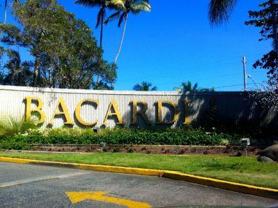 Bacardi Sign Puerto Rico