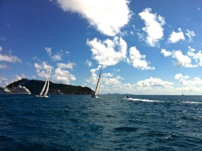 St Martin Americas Cup Race 2