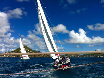 St Martin Americas Cup Race