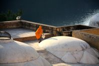 Amer Fort Cleaning Lady Dome