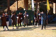 Archers Shot Thimphu Bhutan