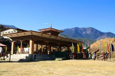 Archery Thimphu Bhutan