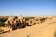 Bada Bagh Jaisalmer From Top