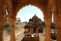 Bada Bagh Jaisalmer View with Windpower