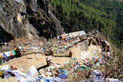 Bhutan Tigers Nest Path to Monastery