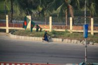 Dhaka Flag Holder