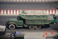 Dhaka Military Truck