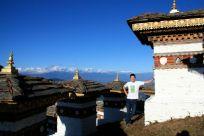 Dochula Pass 108 Stupas David Bhutan