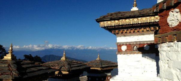 Dochula Pass 108 Stupas Himalayas Header