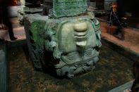Istanbul Basilica Cistern Medusa Head Down
