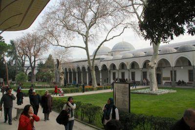 Istanbul Topkitpa Palace Courtyard