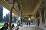 Istanbul Topkitpa Palace Entry area