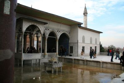 Istanbul Topkitpa Palace Fountain