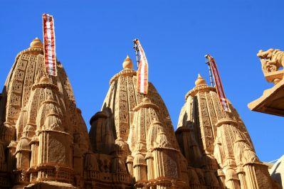 Jaisalmer Fort Jain Temple Flags