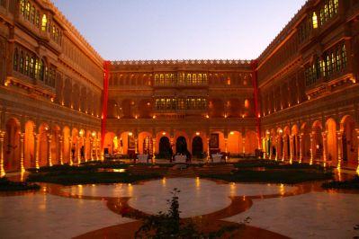 Jaisalmer Suryagarh Courtyard