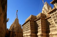 Lodurva Jain Temple Side