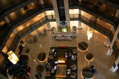 Radisson Blu Dhaka Lobby Downview