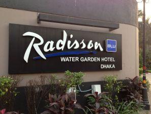 Radisson Blu Dhaka Sign