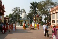 Dakhineswar Shrine and People
