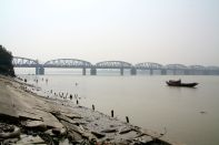 Hooghly River Calcutta India