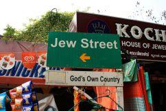 Jew Street Sign Kochi