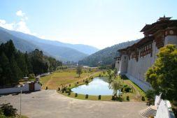 Punakha Dzong Bhutan Lake