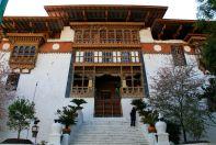 Punakha Dzong Entrance Bhutan