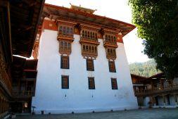 Punakha Dzong Inner Courtyard Bhutan