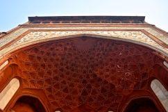Taj Mahal Gate Ceiling