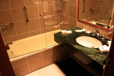 Trident Agra Bathroom