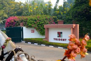 Trident Agra Entrance