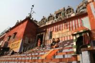 Varanasi Ghat Orange