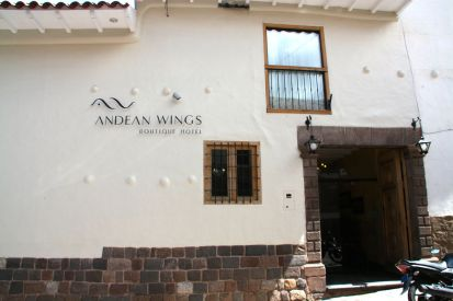 Andean Wings Entrance