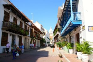 Cartagena Colonial Street