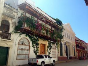 Colonial Architecture Cartagena