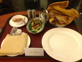 A little room service to relax
