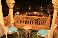 Indana Palace Jodhpur View over Courtyard