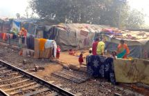 Jaisalmer Delhi Express Slum Family
