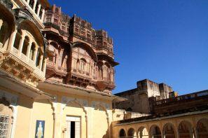 Mehrangarh Fort Courtyard